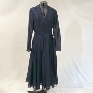 Jones New York Pleated Dress